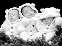 The Lawrence Triplets Christmas 2012